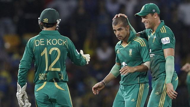 Cricket - Duminy leads South Africa to victory in Sri Lanka