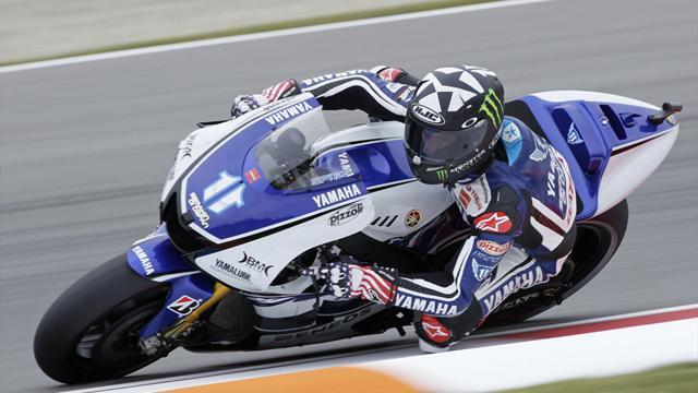 Spies tops second practice at Aragon