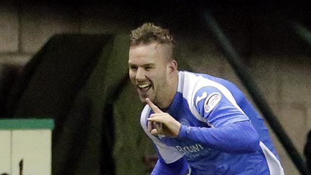 Football - Vine effort enough for St Johnstone