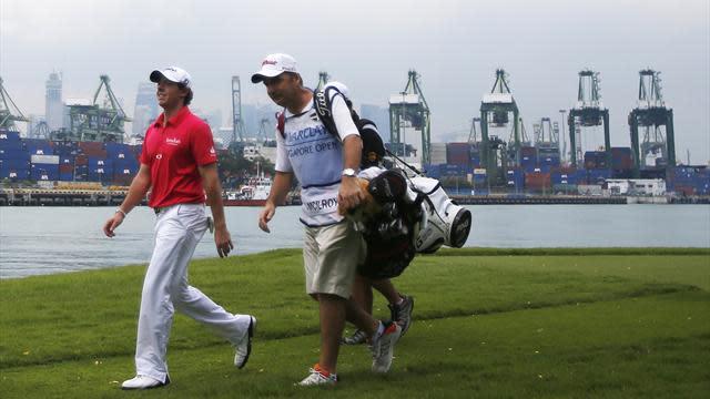 Golf - Bjorn leads in Singapore