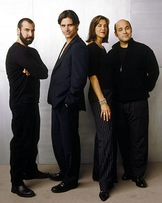 Rick Hoffman, John Stamos, Wendie Malick and Ian Gomez ABC's Jake in Progress