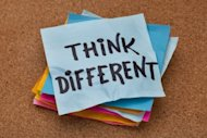 Thought Leadership Does Not Create Differentiation image bigstock think different concept moti 30227678 300x200