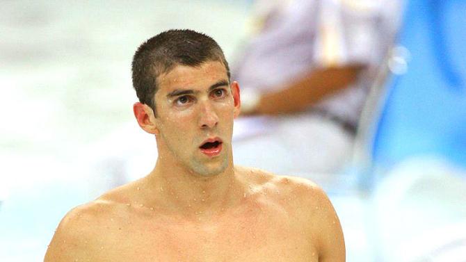 Phelps Michael Olympics