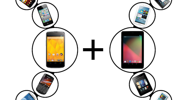 New deals let you get a 'free' tablet as part of a smartphone deal (Image: Recombu)