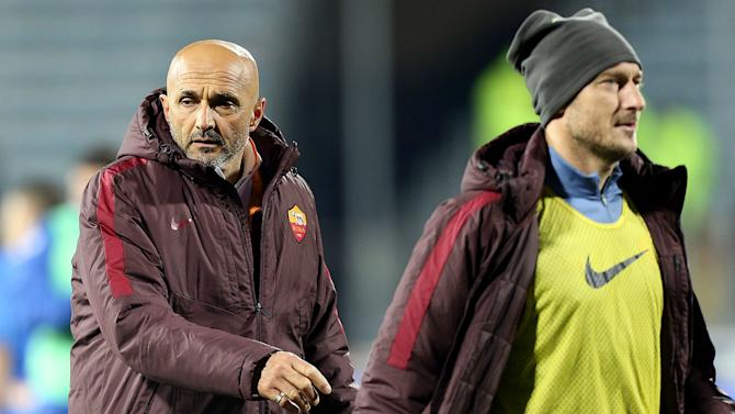 Totti's wife slams 'small man' Spalletti