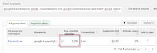 How to Get Phrase & Broad Match Traffic Data Back from Google Keyword Planner image google keyword planner not working