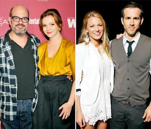 """Amber Tamblyn Says Husband David Cross and Blake Lively's Husband Ryan Reynolds Are """"Really in Love"""""""