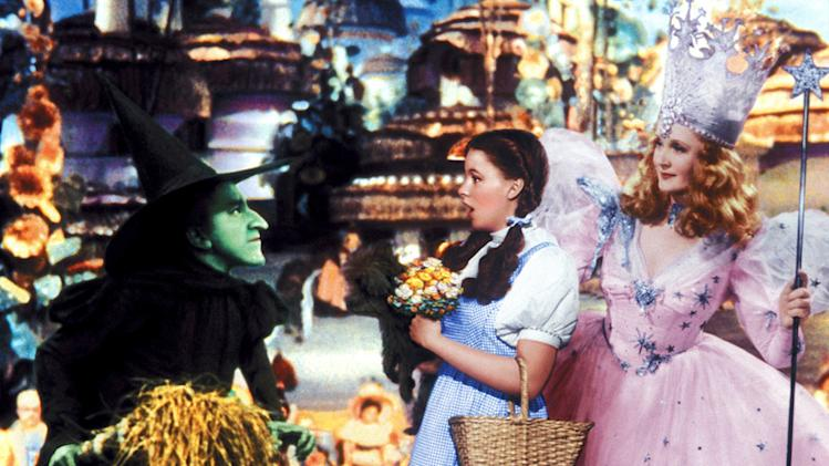 The Wizard of Oz 1939 Margaret Hamilton Judy Garland Billie Burke