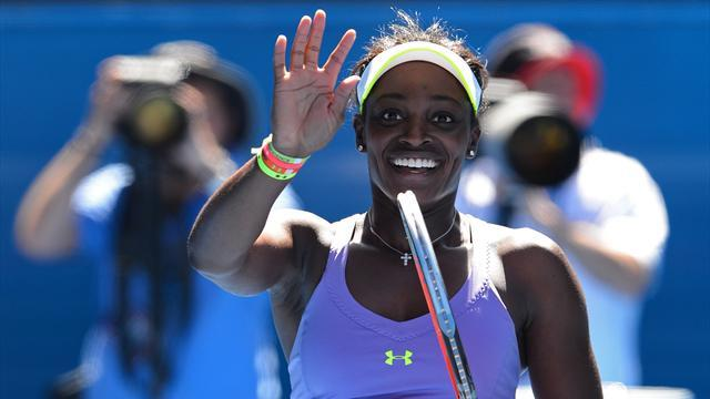 Australian Open - Teenager Stephens thrills in slaying idol Serena