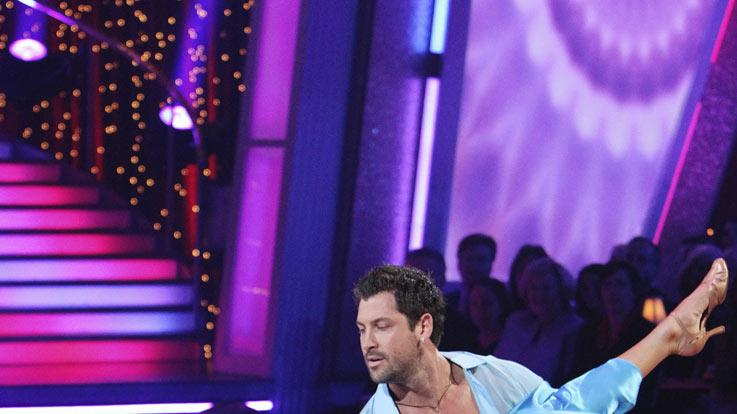 "Maksim Chmerkovskiy and Erin Andrews on ""Dancing with the Stars."""