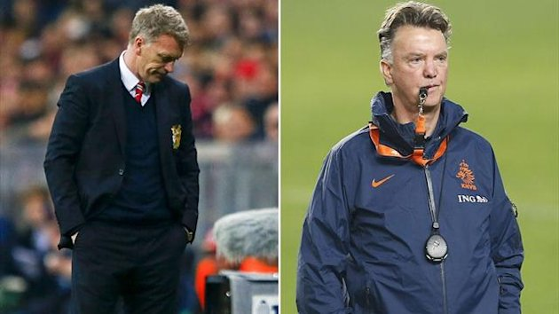 David Moyes, Louis van Gaal
