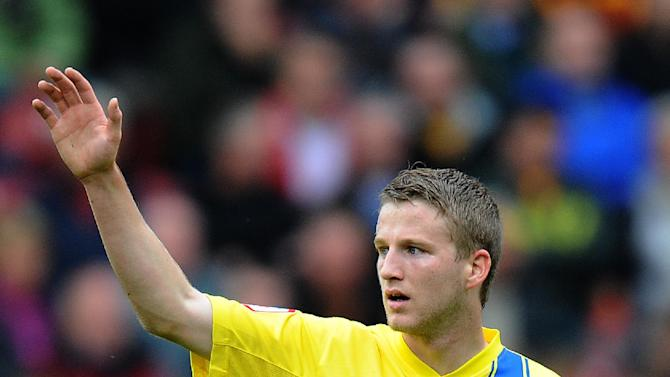 Eunan O'Kane has waved goodbye to Torquay