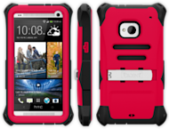 Trident Kraken AMS Series Case For Samsung Galaxy S4 Review  image AMS HTC M7 RED 300x229