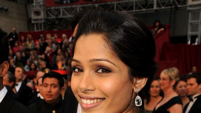 Actress Freida Pinto arrives at the st Annual Academy Awards held at The Kodak Theatre on February in Hollywood California