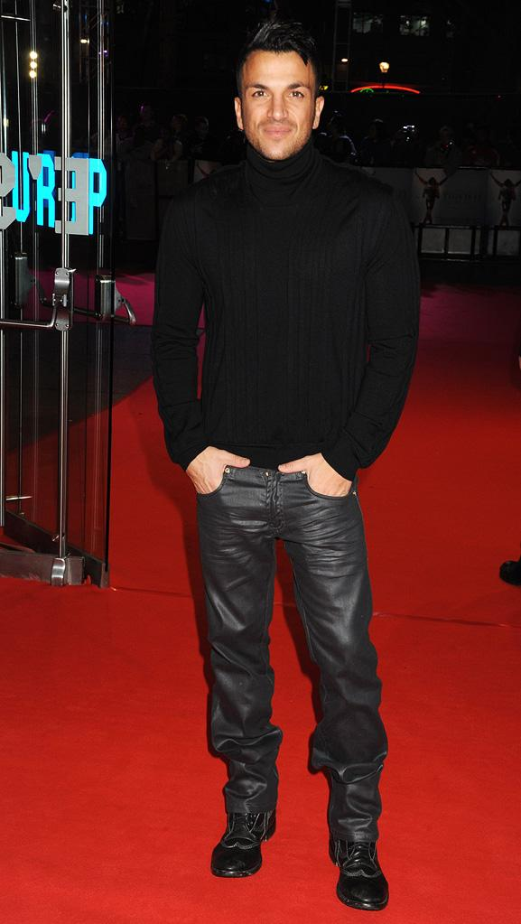 Michael Jackson's This is it London Premiere 2009 Peter andre
