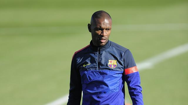 Liga - Returning Abidal sends Vilanova support
