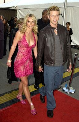 Britney Spears and Justin Timberlake 29th American Music Awards Los Angeles, CA - 1/10/2002