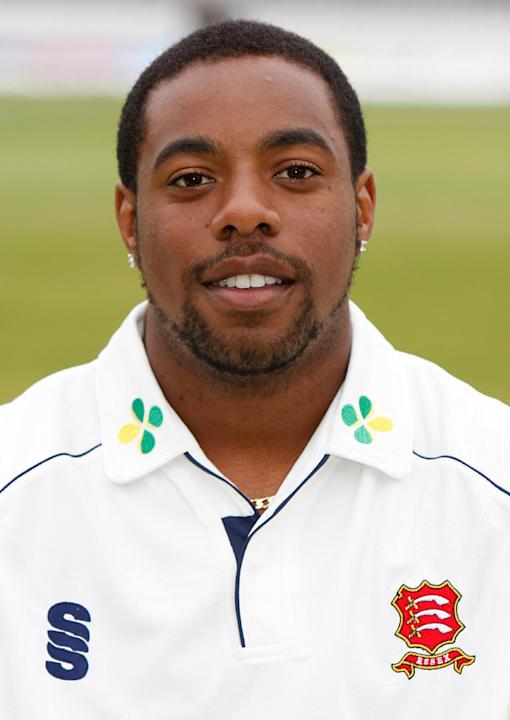 FILE- This is an April 3 2009 file photo of former Essex County cricketer Mervyn Westfield . Westfield became the first English cricketer convicted of fixing on Thursday Jan. 12, 2012 when he admitted