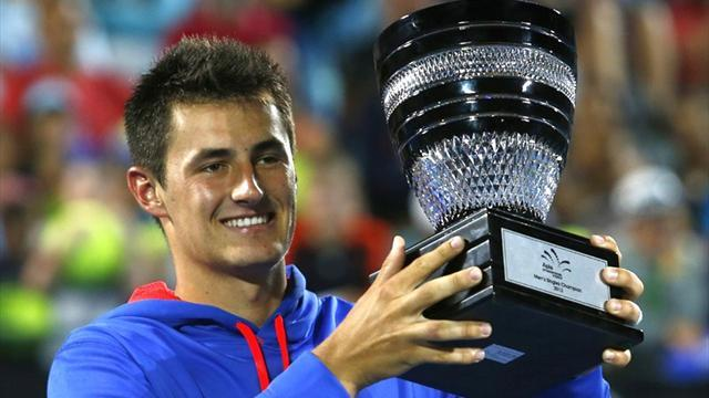 Tennis - Tomic wins first ATP title in Sydney