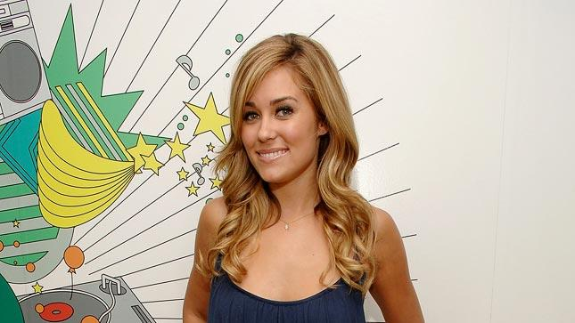 "Lauren Conrad visits MTV's ""TRL"" at MTV Studios Times Square New York."