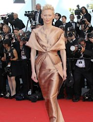 British actress Tilda Swinton
