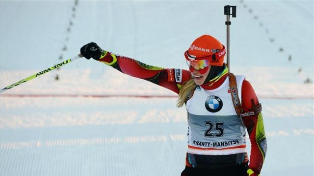 Biathlon - Soukalova extends World Cup advantage after Ruhpolding success