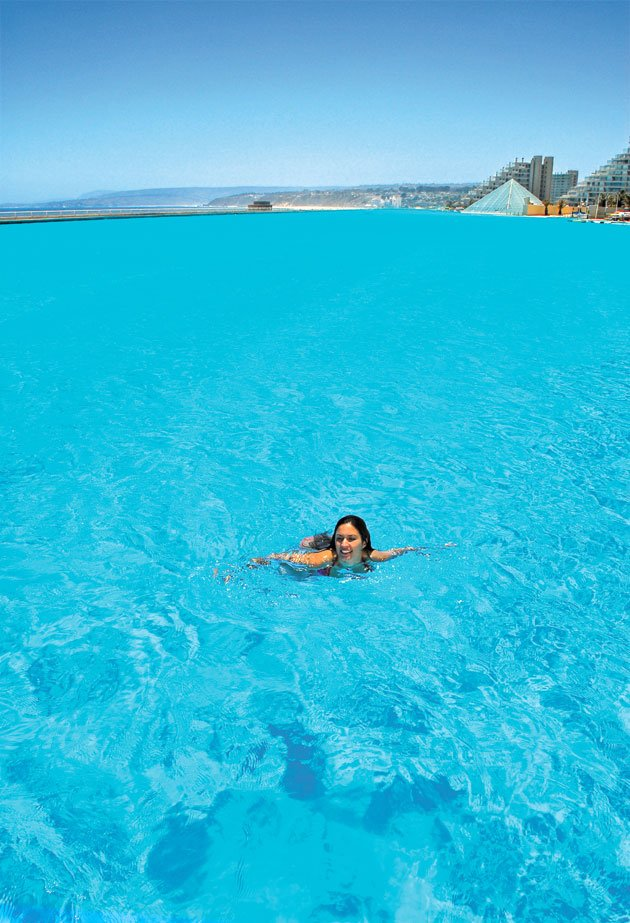 Arvind 39 s world 39 s largest outdoor pool for Biggest outdoor pool