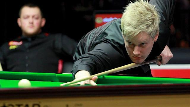 Snooker - Robertson wins Masters opener in sweltering Ally Pally