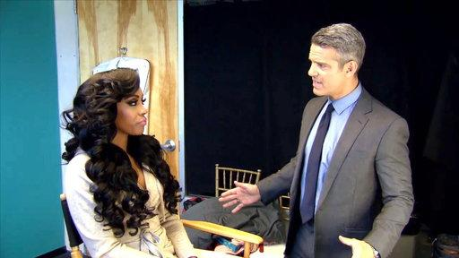 Andy Cohen Asks Porsha Williams to Leave