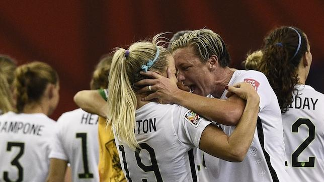 #FIFAWWC: USA beat Germany 2-0 with two late goals to reach World Cup final