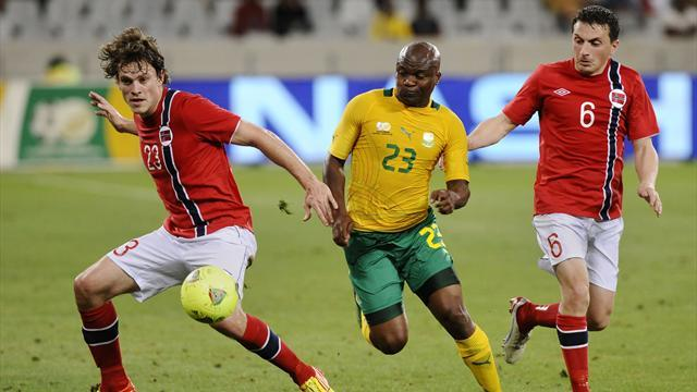 African Cup of Nations - South African morale dented by loss