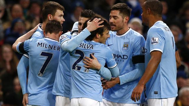 FA Cup - Jovetic and Nasri seal City win over Chelsea