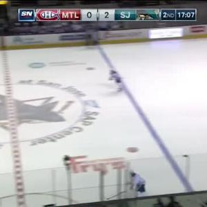 Devante Smith-Pelly Hit on Brenden Dillon (02:54/2nd)