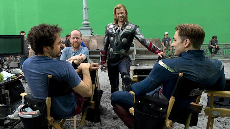 The Avengers 2012 Paramount Robert Downey Jr. Chris Evans Chris Hemsworth Joss Whedon