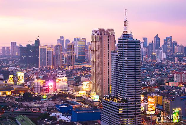 A construction boom has seen high-rise buildings sprouting all over the metro. (Yen Baet)