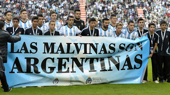 World Cup - Argentine FA fined for 'Malvinas' banner