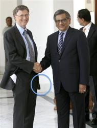 The Bill Gates Handshake: Offensive, or Just Weird? A Photo Investigation