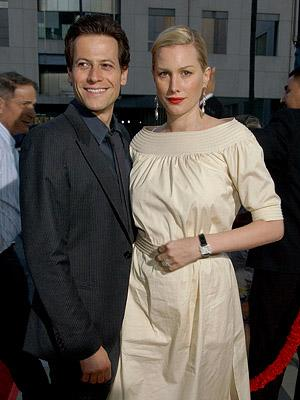 Ioan Gruffudd and Alice Evans at the Beverly Hills premiere of The Weinstein Company's Sicko