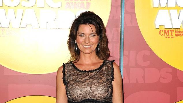 Shania Twain CMT Awards