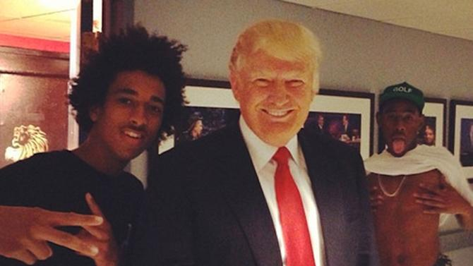 Donald Trump and Tyler the Creator