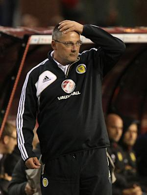 Craig Levein came under pressure after a dismal start to Scotland's World Cup qualifying campaign