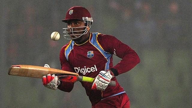 Cricket - Samuels ruled out of Big Bash with injury