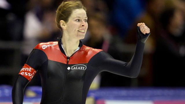 Speed Skating - Nesbitt strikes gold again in Heerenveen
