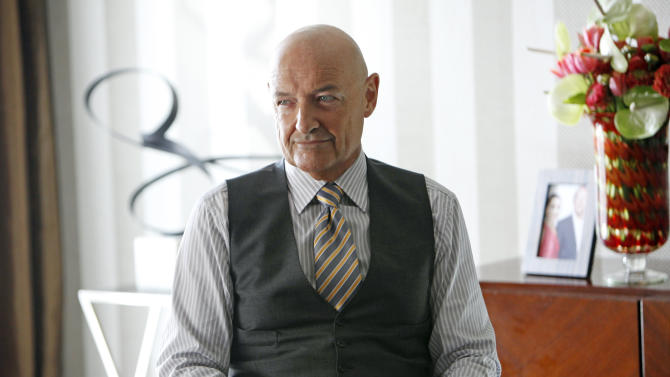"""This image released by ABC shows Terry O'Quinn as Gavin Doran in a scene from the ABC series """"666 Park Avenue,"""" premiering Sunday, Sept. 30 at 10 p.m. EST on ABC. (AP Photo/ABC, Patrick Harbron)"""