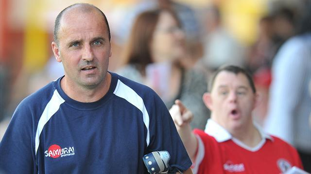 Football - Dickenson at Spireites until new year