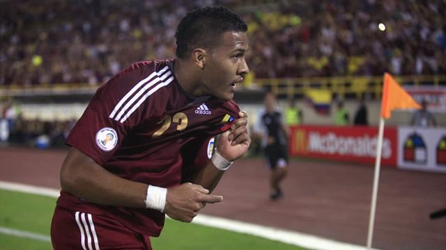 World Cup - One-time whipping boys Venezuela dream of first finals