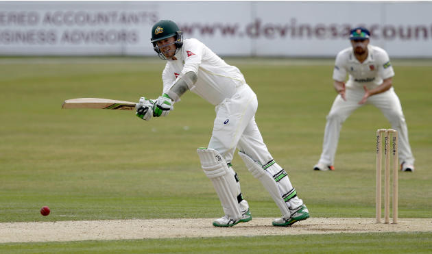 CRIC: Australia's Peter Siddle in action