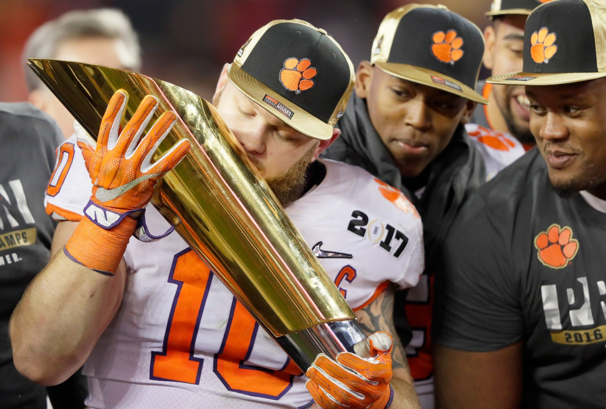 The location of Ben Boulware's tattoo was apparently dictated by Howard's comments. (Getty)