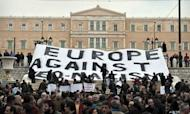 Golden Dawn: Anti-Neo-Nazi Protests In Athens