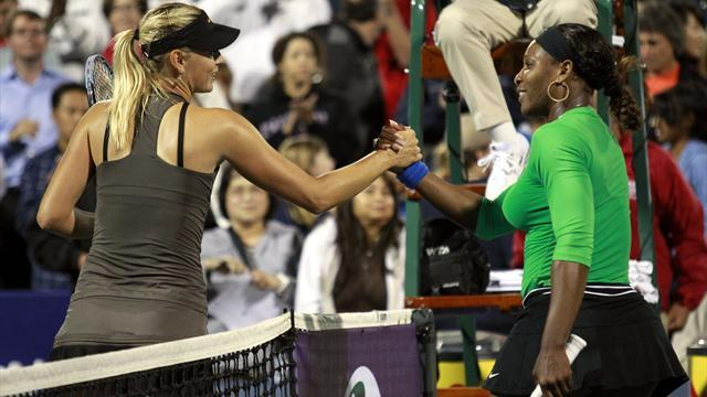Wimbledon - Serena apologises to Sharapova over boyfriend barb